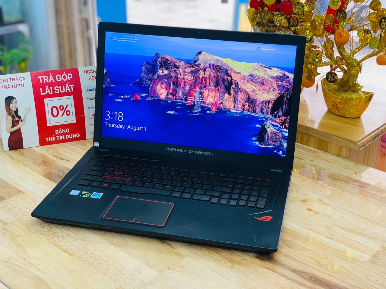 ASUS GAMING GL753VD CORE I7